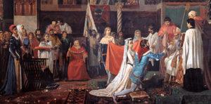 Nozze di Eleonora d'Arborea e Brancaleone Doria (di Antonio Benini, 1835-1911)