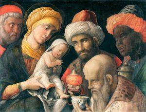 Adorazione dei Magi (Mantegna, 1497-1500)