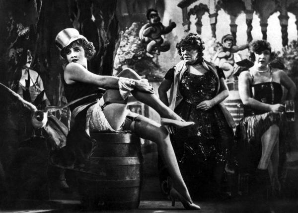 Marlene Dietrich, l'angelo azzurro