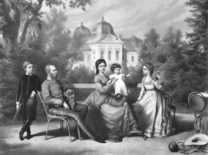 La famiglia imperiale a Göddollo (1870)