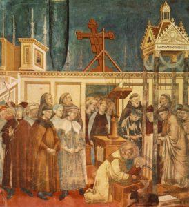 L'istituzione del presepe a Greccio, Giotto (1303)
