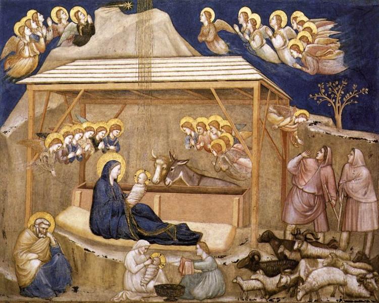 Natività, cappella degli Scrovegni (Giotto)