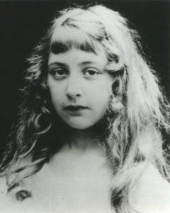 Agatha Christie da bambina