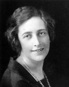 Agatha Christie nel 1925 a 35 anni