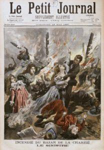 "Prima pagina di ""Le Petit Journal"""