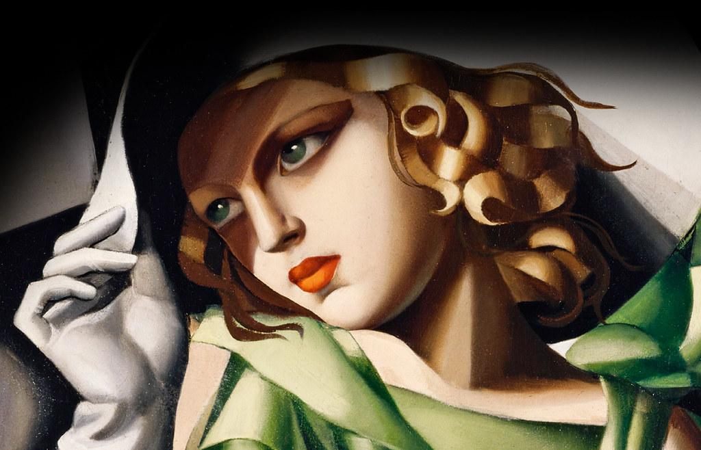 Tamara de Lempicka, la regina dell'Art Déco
