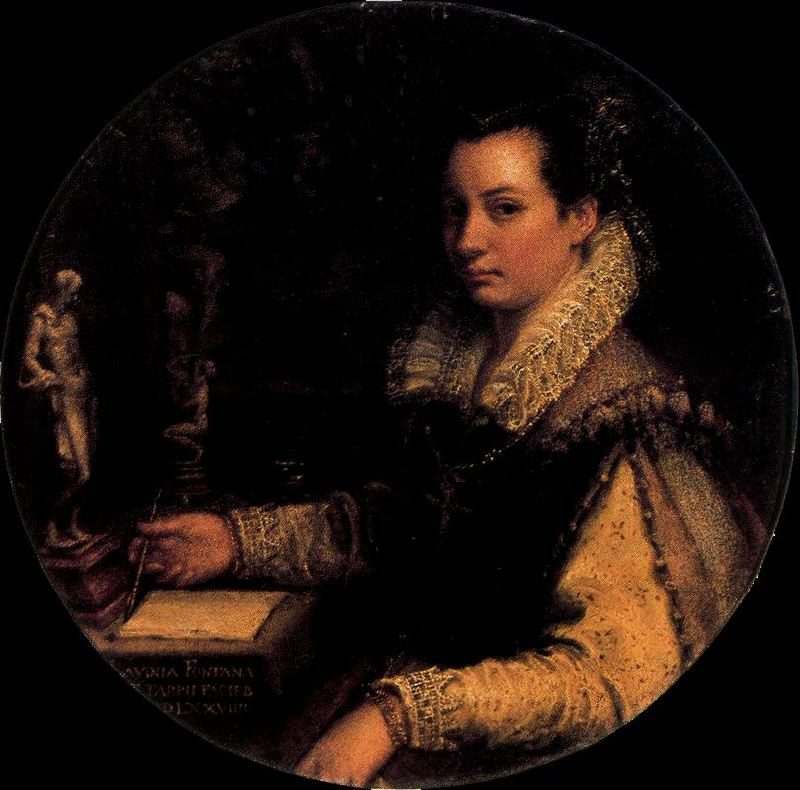 Lavinia Fontana, la Pontificia Pittrice