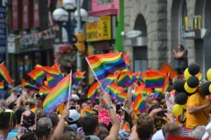 Manifestazione per i diritti della comunità LGBT
