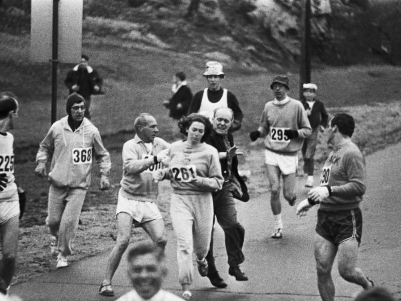 Kathrine Switzer, la prima maratoneta di Boston