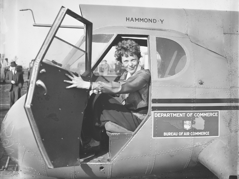 Amelia Earhart, la pioniera del volo