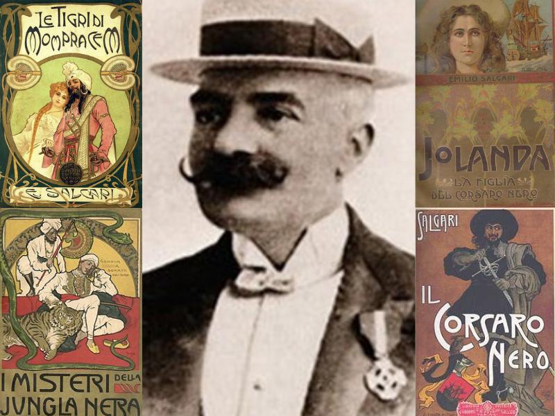 Emilio Salgari, il padre italiano dell'avventura